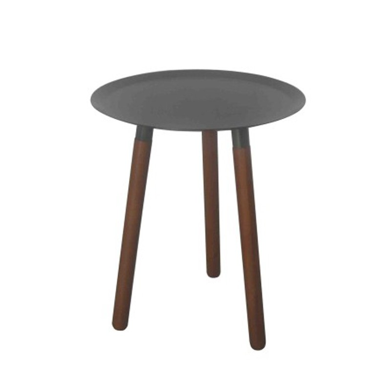 Table d 39 appoint design lily b gris - Table appoint design ...