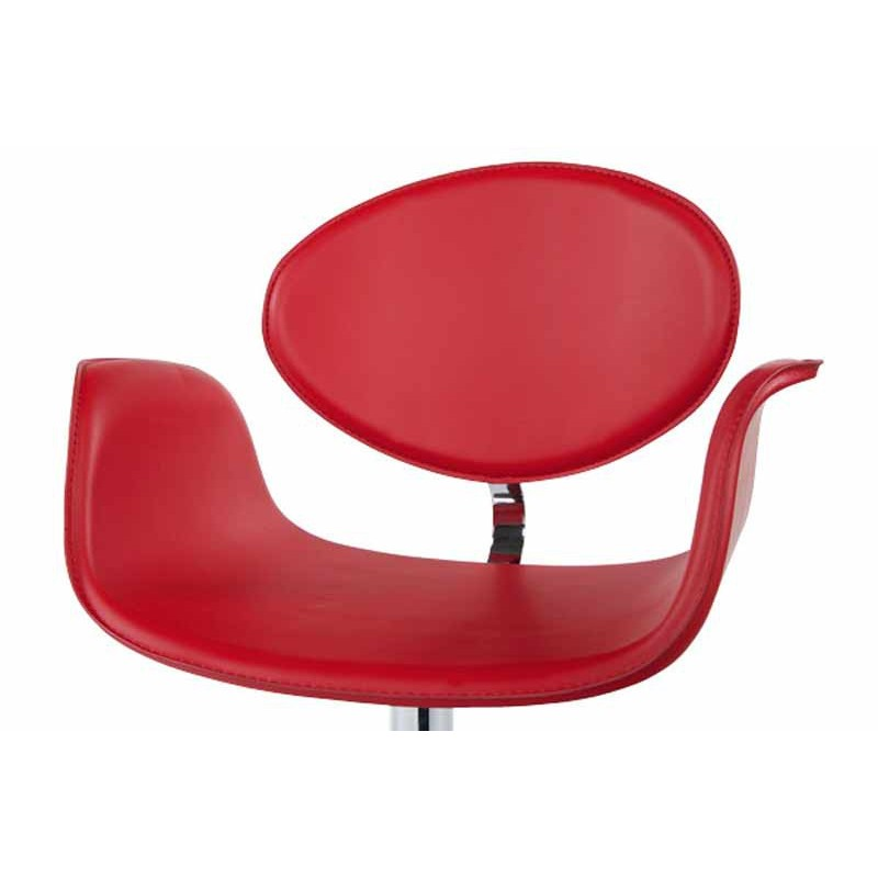 Chaise design lady rouge - Fauteuil design rouge ...